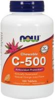 NOW Foods' Chewable C 500