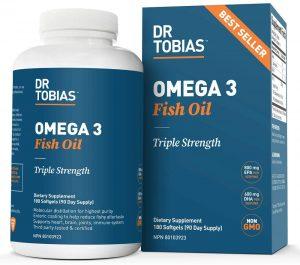 Dr Tobias' Omega 3 Fish Oil
