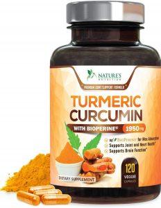 Nature's Nutrition Turmeric Curcumin