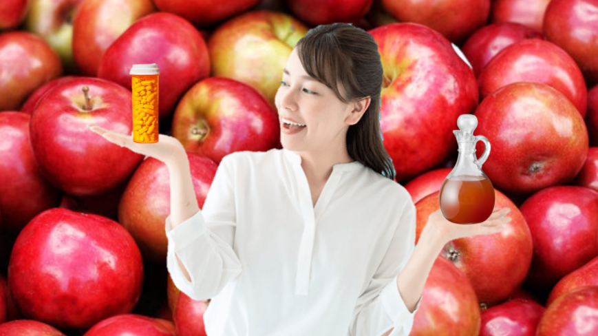 apple cider vinegar pills vs liquid