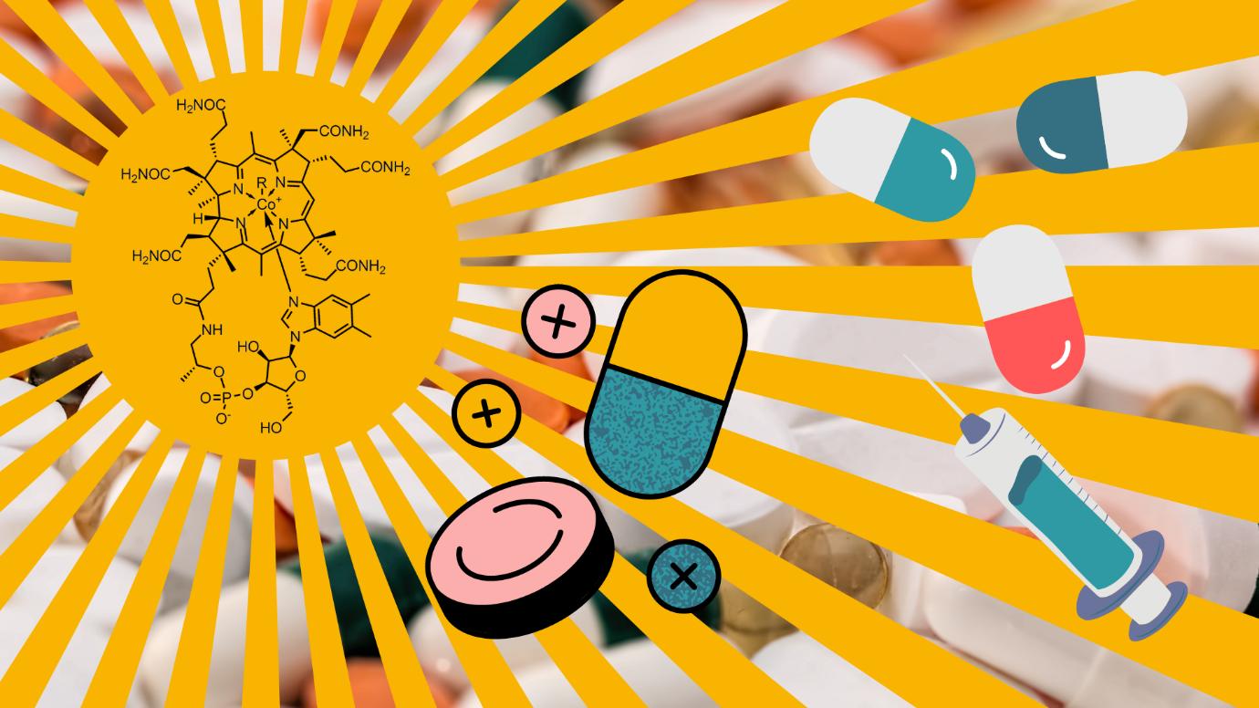 B12 Vitamins Supplements