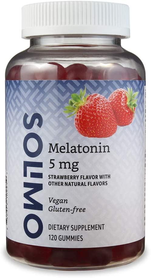Best All-Rounder – Solimo Melatonin Gummies for Kids