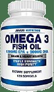 Arazo Nutrition Omega-3 Fish Oil Softgel Capsules