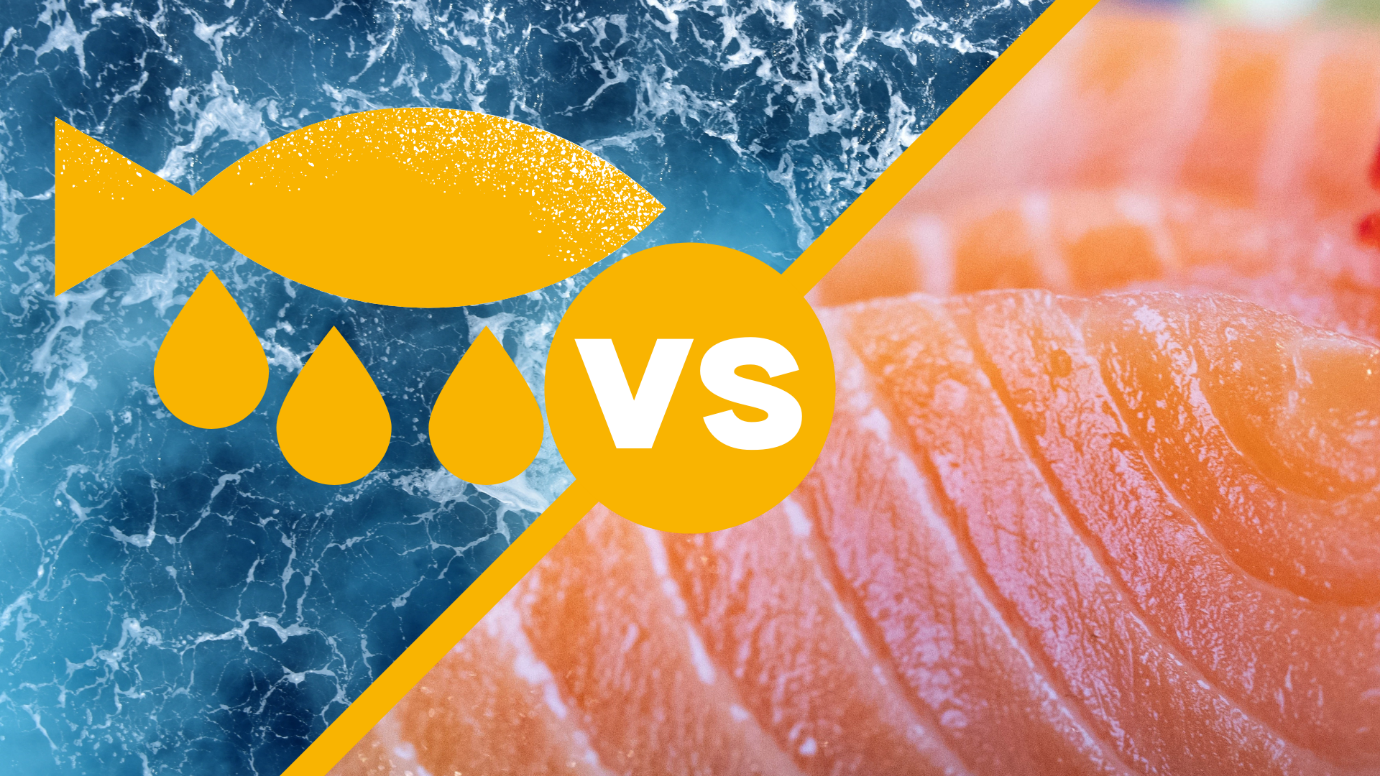 Salmon Vs Fish Oil Supplements