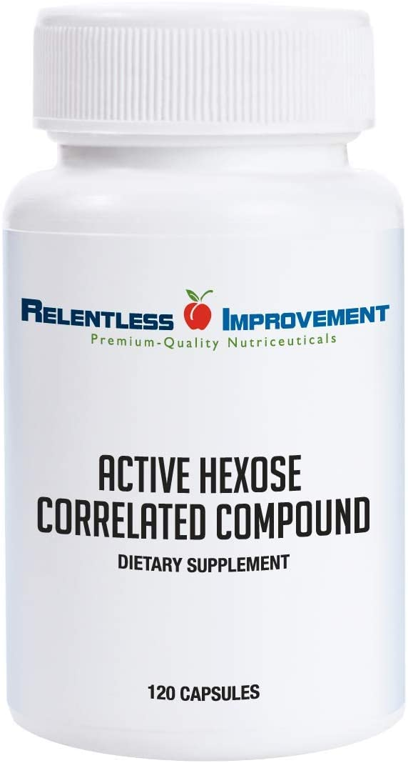 Relentless Improvement Active Hexose Correlated Compound Natural Immune Support Ahcc supplement