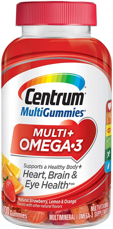 Centrum MultiGummies Multi+ Omega 3