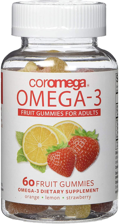 Coromega Omega-3 Fruit Gummies for Adults