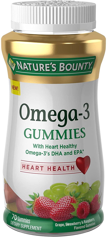 Nature's Bounty Omega-3 Gummies