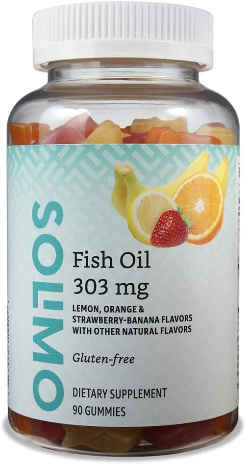 Solimo Fish Oil 303mg Gummies