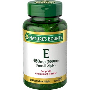 Best High Dose – Nature's Bounty Vitamin E
