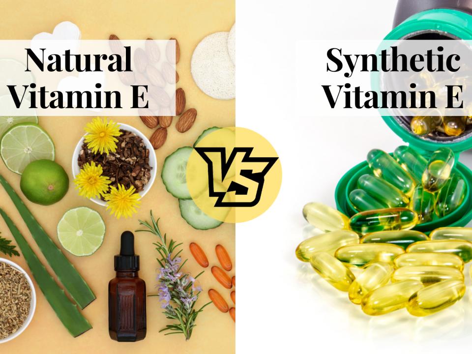 Natural Vs Synthetic Vitamin E